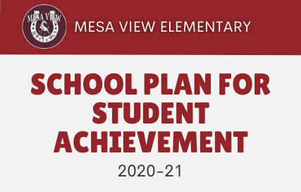 Mesa View Elementary School Plan for Student Achievement