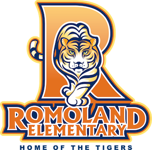 Romoland Elementary, Home of the Tigers Logo