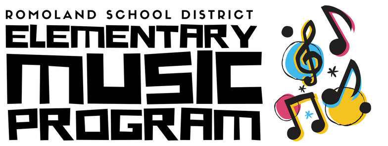 Romoland Elementary Music Program logo