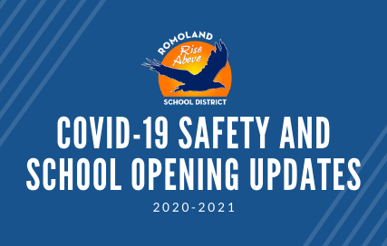 Romoland School District COVID-19 SAFETY AND School opening updates