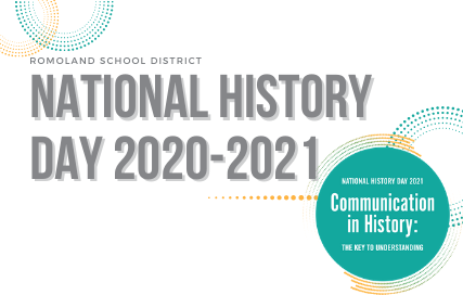 Romoland School District National History Day 2020-2021