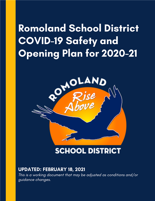 Romoland School District COVID-19 Safety and Opening Plan for 2020-21