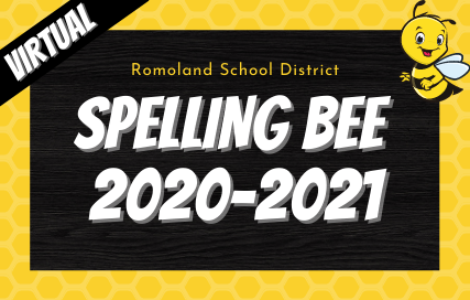 Virtual Romoland School District Spelling Bee 2020-2021