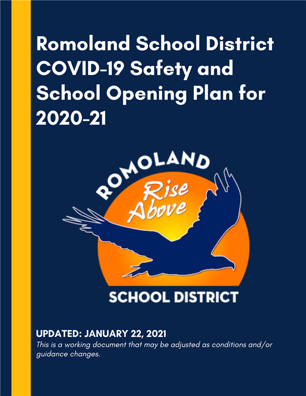 RSD COVID-19 Safety and School Opening Plan for 2020-21