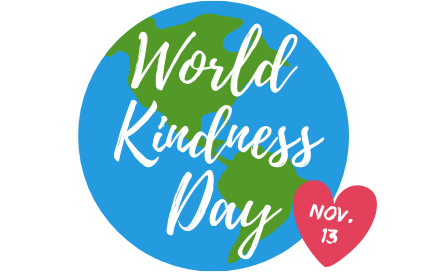 World Kindness Day is Nov. 13th!