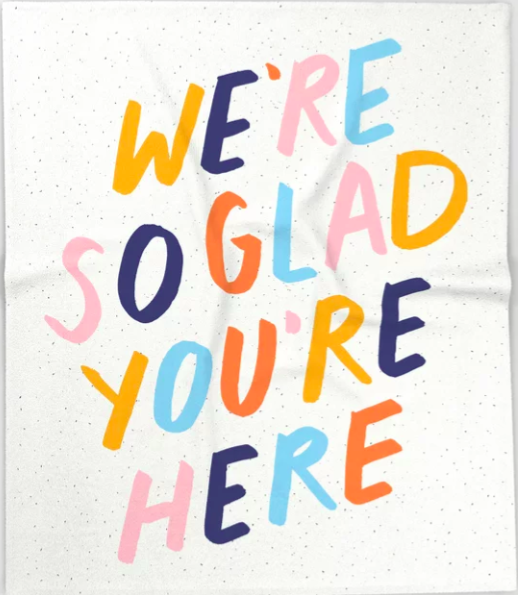 We're so glad you're here
