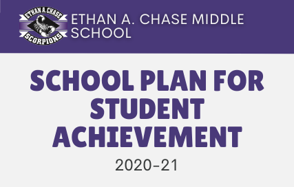 Ethan A. Chase Middle School. School Plan for Student Achievement 2020-21